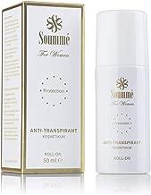 Soummé Antitranspirant Protection Roll-On for Women Kosmetikum [50 ml] | Schützt vor Schweiß- und Geruchsbildung, verschiedene Pflegestoffe
