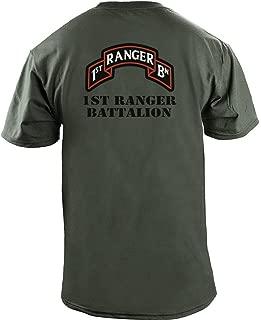 USAMM Army 1st Ranger Battalion Full Color Veteran T-Shirt