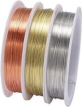 1 Rol Sturdy Gold Legering Koperdraad Dia 0.2 0.3 0.4 0.5 0.6 0.7 0.8 1 mm Draad metalen strijkraad voor DIY Kralen Sierad...