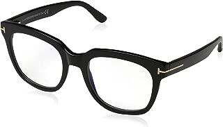 FT 5537-B Blue Block Black 52/20/140 Women Eyewear Frame