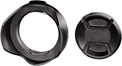 Hama Lens Hood for Wide Angle Lenses  Lens Cap  Screw-in Socket mm  Black