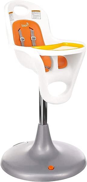 Boon Flair Highchair Orange Pad White Base