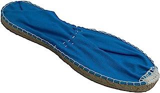 Esparto espadrille plate Made in Spain en bleu