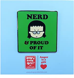 Nerd Pin by Angry Little Girls