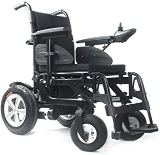 Inicio Accesorios Sillas de Ruedas eléctricas para Ancianos discapacitados Silla de Ruedas eléctrica Plegable Inteligente de aleación de Aluminio de Alta Gama Seguro Fácil de Conducir Silla de rued