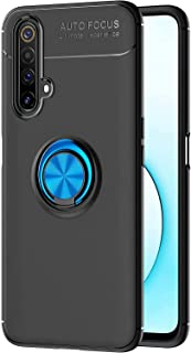 DOHUI Case for Honor X10 Max 5G, Slim Hybrid Dual Layer Shock-Absorption Cover Case with finger Ring Holder Compatible Mag...