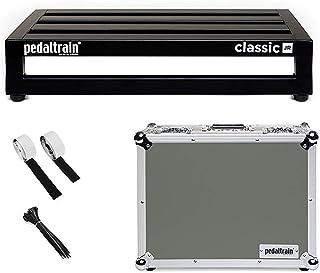 Pedaltrain PT-CLJ-TC de efectos de guitarra de la placa del Pedal, 45,72 cm x 31,75 cm y el caso del vuelo PTCLJTC