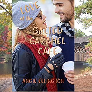 Love at the Salted Caramel Cafe audiobook cover art