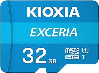 microSDHC 32GB EXCERIA 超高速UHS-I KIOXIA(旧東芝メモリー) + SDアダプター + 保管用クリアケース [並行輸入品]