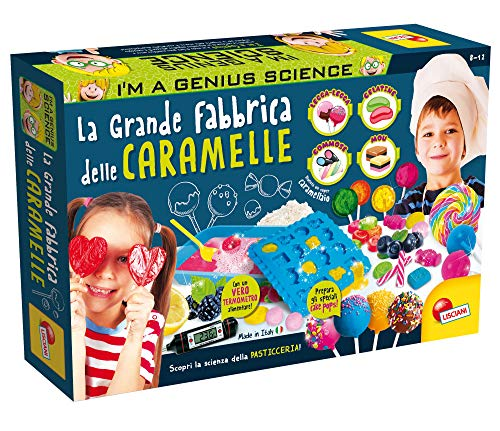 Lisciani Giochi - 77472 Gioco per Bambini I'm a Genius la Grande Fabbrica delle Caramelle