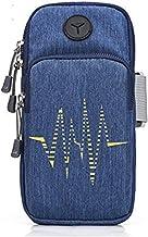 GOCART WITH G LOGO Men's and Women's Oxford Cloth Elastic Arm Bag (Blue)
