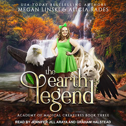 The Earth Legend audiobook cover art