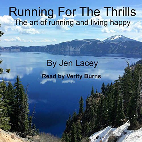 Running for the Thrills audiobook cover art