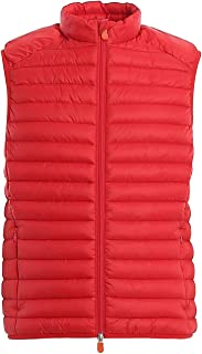 SAVE THE DUCK Gilet Uomo D8516MRECY800009 Poliestere Blu