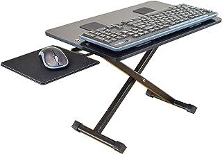 KT3 Ergonomic Adjustable Height & Negative Tilt Computer Keyboard and Mouse Stand for Standing. sit Stand up Riser on Desk...