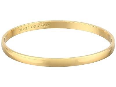 Kate Spade New York Idiom Bangles 2 Heart Of Gold (Gold) Bracelet