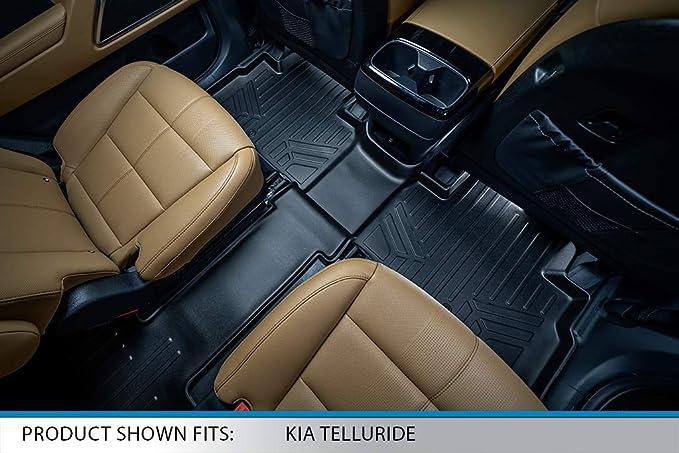 PantsSaver Custom Fits Car Floor Mats for Kia Telluride 2021,Front ...