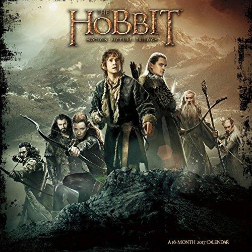 The Hobbit - 2017 Calendar 12 x 12in