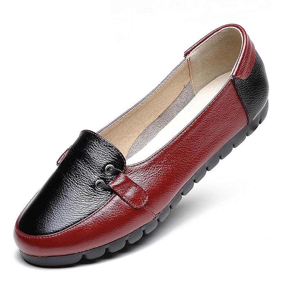 順応性日付付き交じる[サニーサニー] フラットシューズ パンプス モカシン レディース 歩きやすい パッチワーク マルチ ローヒール 可愛い 痛くない 軽い 安定感 柔軟性抜群 屈曲性 疲れにくい 快適 介護シューズ 母の日 ぺタンコ 婦人靴 黒