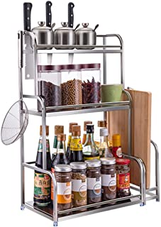 Support De Cuisine/Support De Stockage/Support à Outils/Support à éPices/Support De Stockage Organisation 3 Couches en Aci...