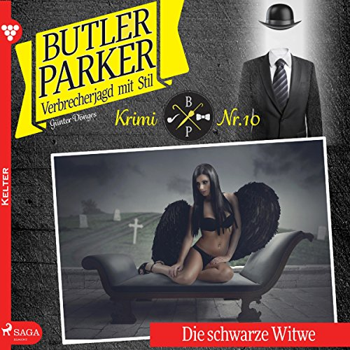 Die schwarze Witwe audiobook cover art