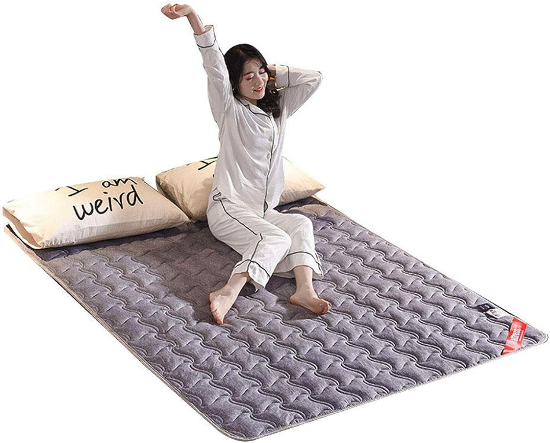 4 Seasons Universal Thin Bed Mattress, Non-Slip Portable Tatami Floor Mattress Fold Quilted Dormitory Hotel Futon Mattress - 150x200 cm (59x78 Inch),C,120x200cm