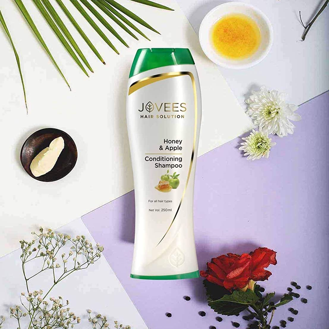 引き出し僕のオッズJovees Honey & Apple Conditioning Shampoo 250ml makes Hair softer, smoother & shinier ハニー&アップルコンディショニングシャンプーは、髪を柔らかく、なめらかに、そして輝かせます。