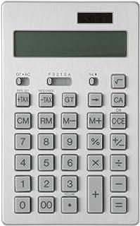 無印良品 電卓 12桁 シルバー 5568079