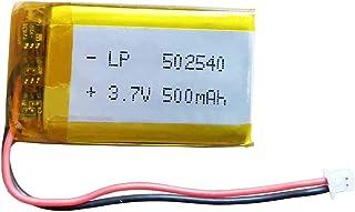 Sena SMH 5 SMH 5-FMオートバイBluetoothヘッドセット用3.7vリチウムイオンバッテリー502540 500mAhバッテリーの交換