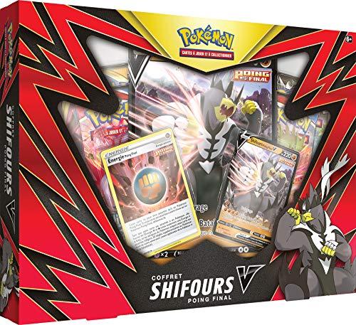 Pokemon Shifours-V Sociedad Juego de coleccionar Juego de Cartas y baúles POEBPAQ21