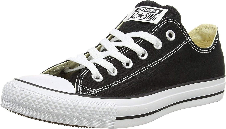 Converse Unisex Chuck Taylor All Star Ox (8 D(M), Black)