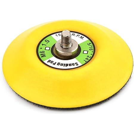 iFCOW Platorello per Levigatura a Mano Gancio E Anello Platorello per Levigatura Manuale Disco per Levigatura 5 125 Mm