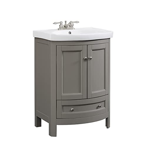 Phenomenal Gray Bathroom Vanities Amazon Com Download Free Architecture Designs Scobabritishbridgeorg
