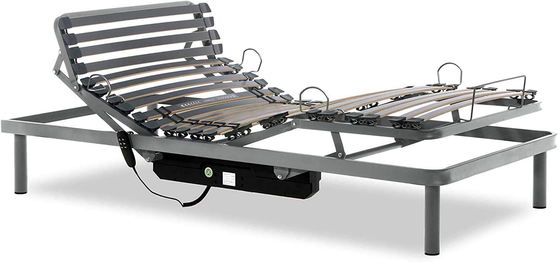 Gerialife® Cama Articulada Eléctrica Reforzada (90x190 ...