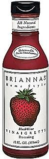 Briannas Home Style Dressing Blush Wine Vinaigrette -- 12 fl oz