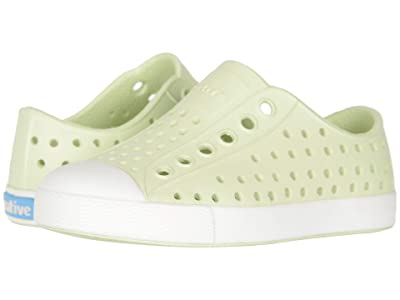 Native Kids Shoes Jefferson (Toddler/Little Kid) (Cucumber Green/Shell White) Girls Shoes