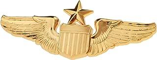 Generic Men`s USAF U.S. Air Force Senior Pilot Metal Wing Badge Insignia