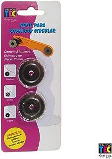 Refil de Lâminas Toke e Crie - Para Cortador Circular de 28 mm picote 836 Di018