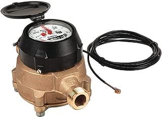 Flowmeter, 25 gpm, 7-1/2in, 150psi, Noryl, SS