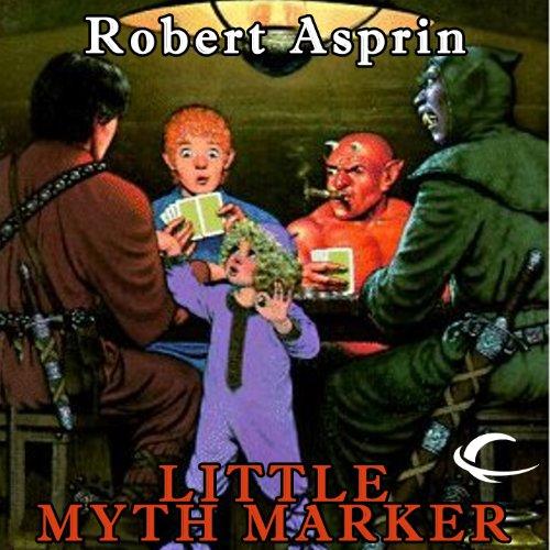 Little Myth Marker audiobook cover art