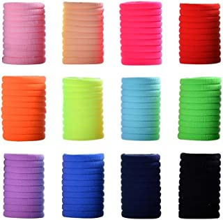 inSowni 120 Pack Elastic Hair Ties Bands Scrunchies Holders for Baby Girl Toddler Thin Hair