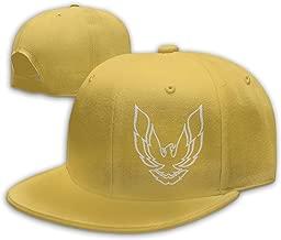 Ooiilpe Men&Women Baseball Hat Pontiac Firebird Logo Baseball Cap Black