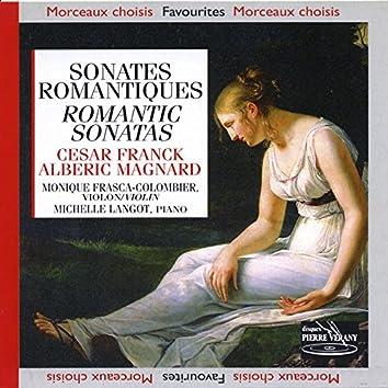 Franck - Magnard - Alberic : Sonates Romantiques