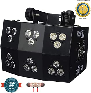 Chauvet DJ Wash FX Tri-Color LED Wash/Effect Light includes Free Wireless Earbuds - Stereo Bluetooth In-ear and 1 Year Everything Music Extended Warranty