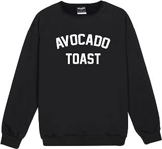 Avocado Toast Sweater Jumper Top Women's Fun Tumblr Grunge Hipster Vegan Slogan