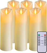 5PLOTS Flameless Candles with Remote and Timer (H7