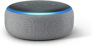 Echo Dot (3.ª generación) - Altavoz inteligente con Alexa tela de color gris oscuro
