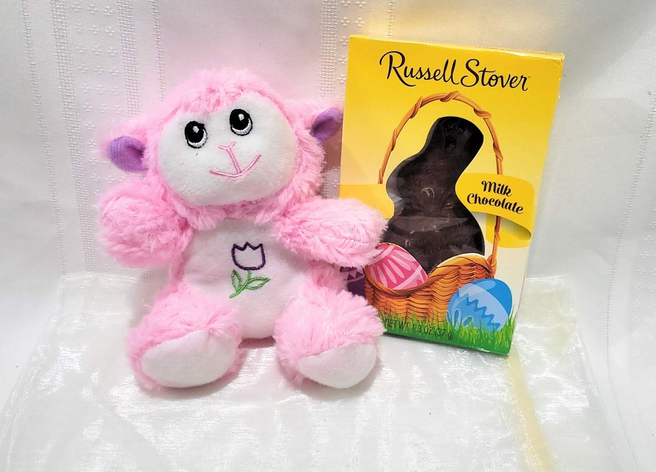 Easter Plush Animal Lowest price challenge With Chocolate Organza Cash special price with Gif Bunny Bundle