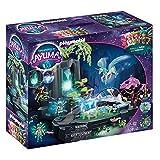 PLAYMOBIL Adventures of Ayuma 70800Fuente de Energía Mágica, para Jugar con el Agua, con función de luz y Niebla, A Partir de 7 años