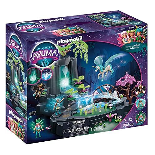 PLAYMOBIL Adventures of Ayuma 70800Fuente de Energía Mágica, para Jugar con...